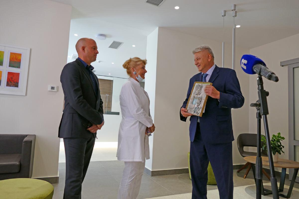 Povodom 66. godina rada i postojanja Psihijatrijske bolnice Rab svečano je otvoren Senzorni kabinet