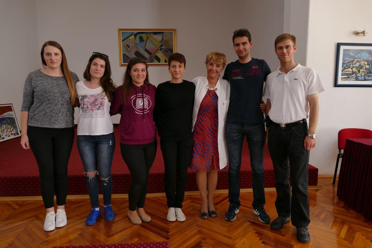 Predstavnici studentske sekcije NeuroSplit u radnom posjetu PB Rab.