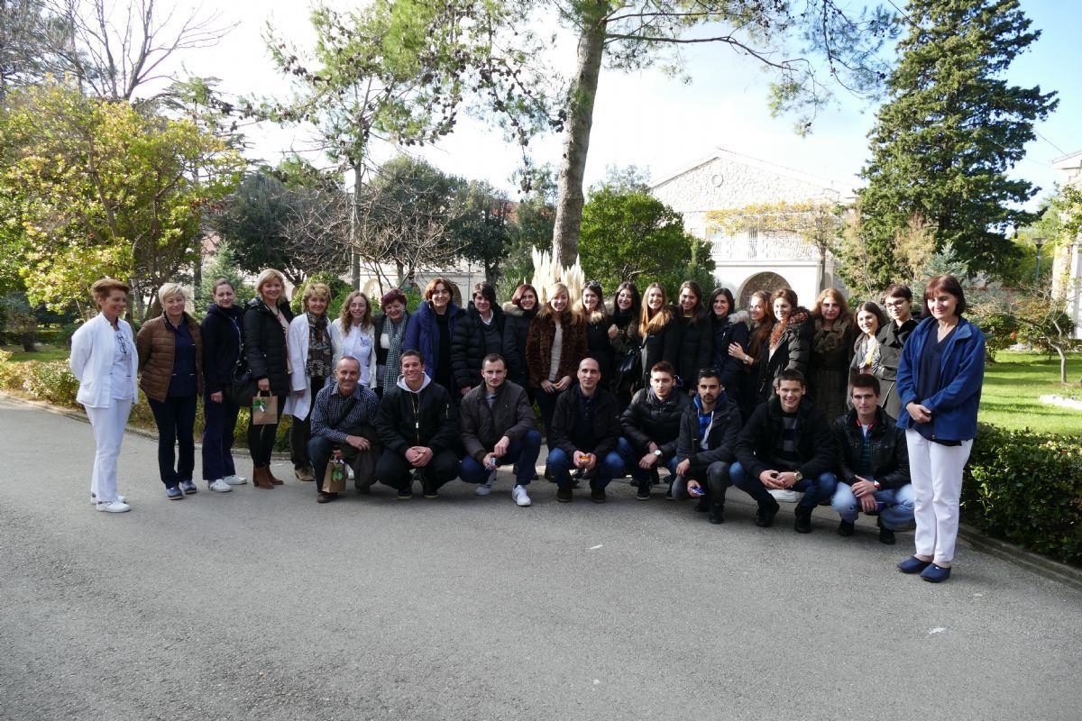 Stručni posjet studenata sestrinstva Sveučilišta u Splitu