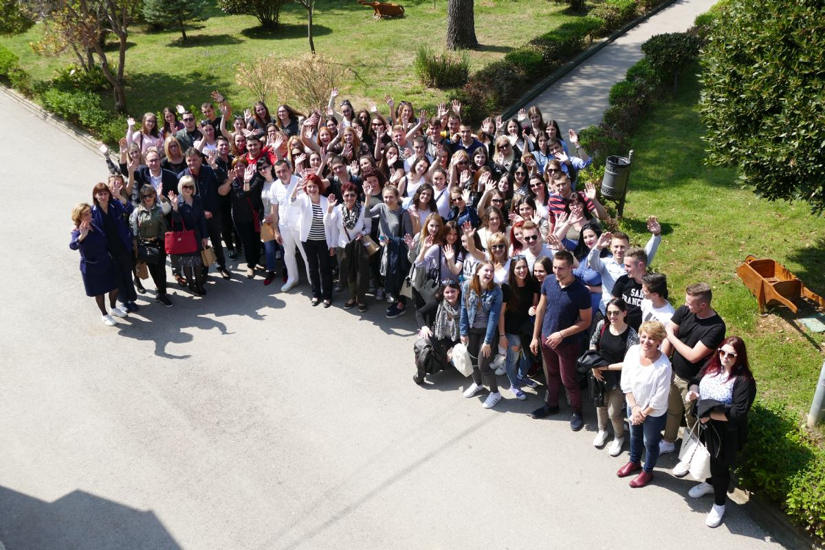 Stručni posjet učenika i djelatnika medicinske škole Karlovac  PB RAB