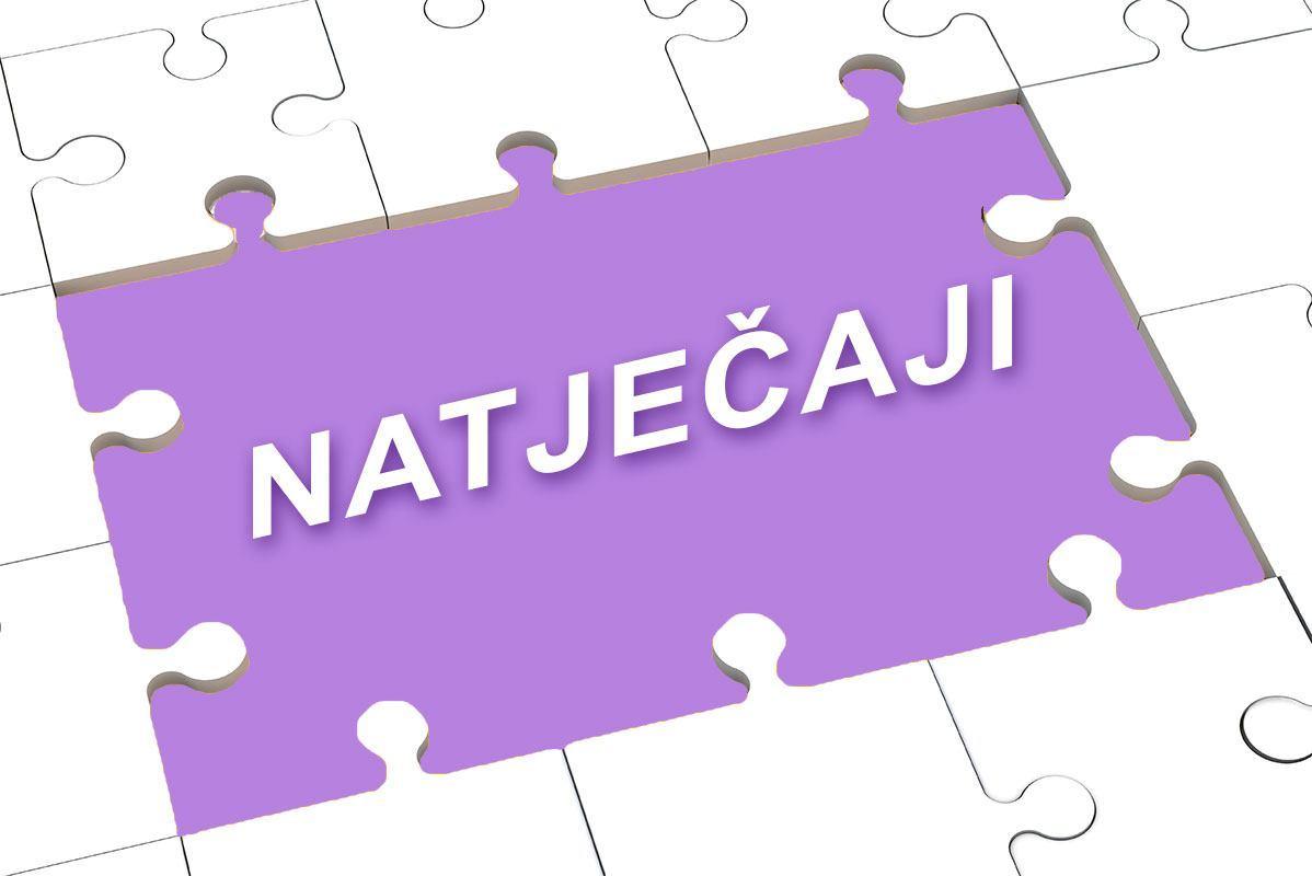 N A T J E Č A J za prijem djelatnika u  radni odnos za radno mjesto