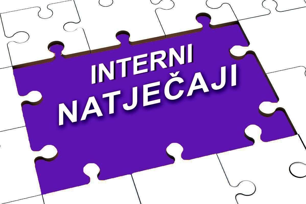 Interni natječaj za popunu radnog mjesta s posebnim ovlaštenjima i odgovornostima