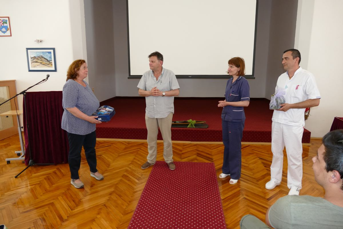 Stručni posjet učenika i djelatnika medicinske škole Mlinarska Zagreb
