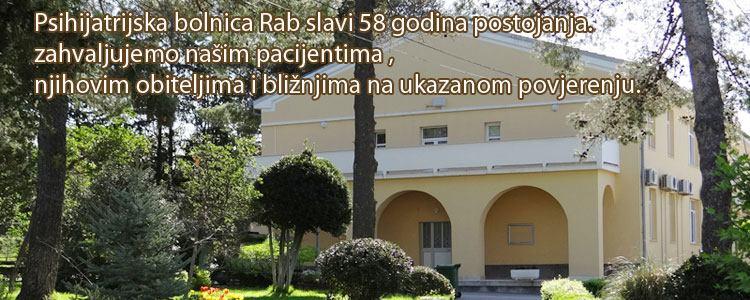 Psihijatrijska bolnica Rab slavi 58 godina postojanja