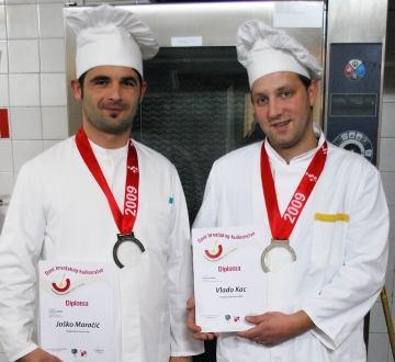 Srebrne medalje za naše kuhare