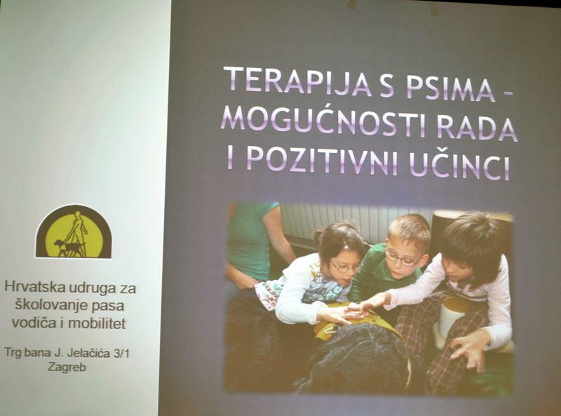 Hrvatska udruga za školovanje pasa vodiča i mobilitet u posjetu Bolnici