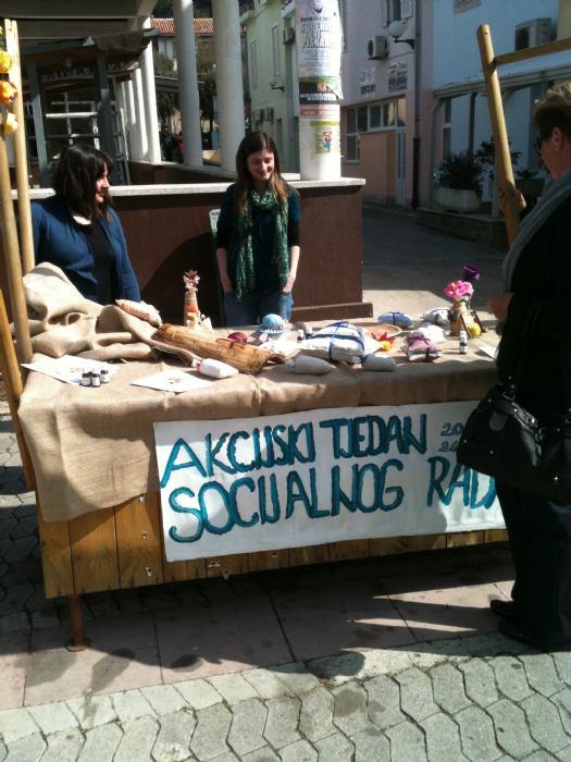 Socijalni radnici naše Bolnice učestvovali  u akcijskom tjednu socijalnog rada