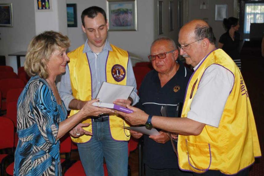 Donacija Lions Cluba San Marino Undistricted