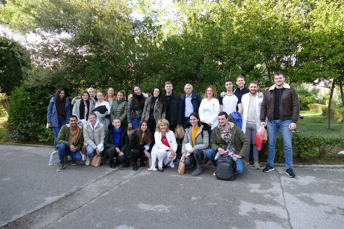 Studijska posjeta splitskih studenata medicine na engleskom jeziku