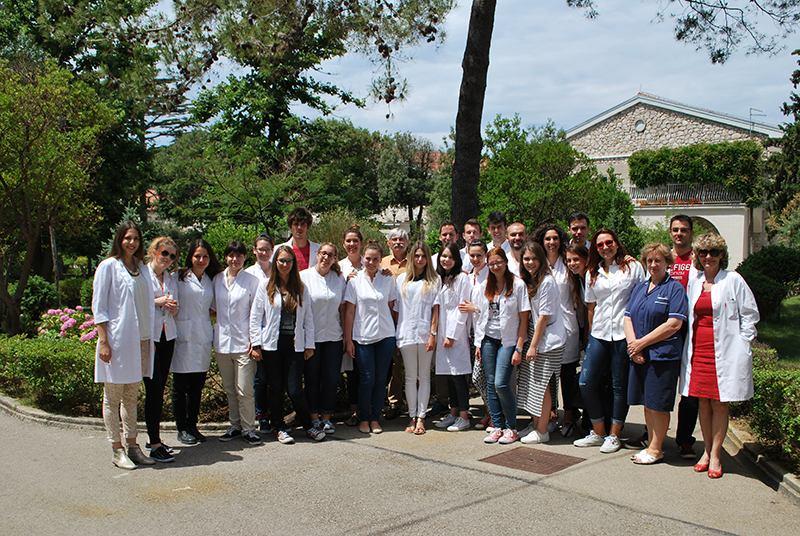 Posjet studenata Medicinskog fakulteta u Splitu