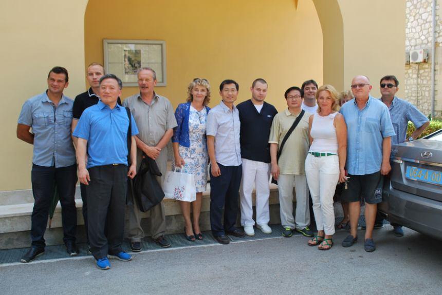 Posjet delegacije Republike Koreje Rabu i Psihijatrijskoj bolnici Rab