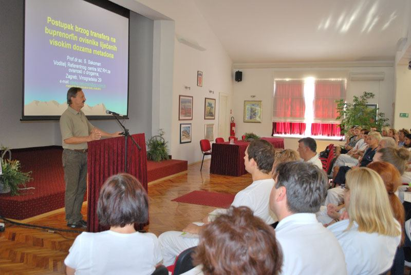 Stručna predavanja na temu: Dobra klinička praksa u liječenju ovisnika